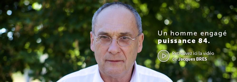 Jacques Bres - Candidat UP-MEDEF 84 à l'élection de la CCI Vaucluse