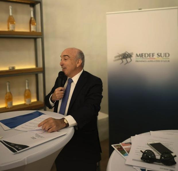 Conférence de presse d'Yvon GROSSO